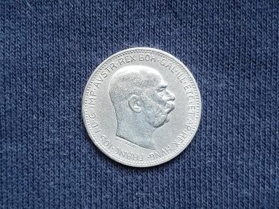 Stříbrná koruna 1914 FJI