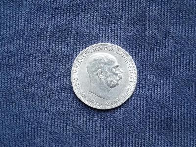Stříbrná koruna 1915 FJI