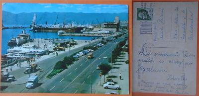 Jugoslávie - Rijeka, lodě a starší auta