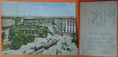 Bulharsko - Sofie, staré tramvaje, 1963, pops. beze známky