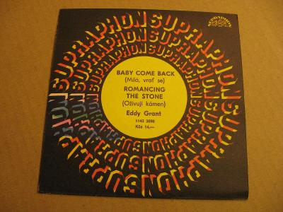 Grant Eddie BABY COME BACK, ROMANCING THE STONE 1985 SP stereo