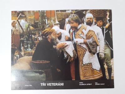 Filmová fotoska / plakátek  Tri veterani