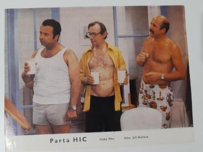 Filmová fotoska / plakátek  Parta Hic