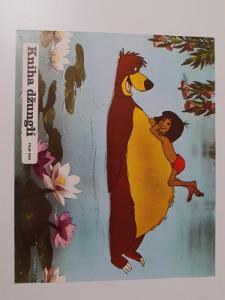 Filmová fotoska / plakátek  Kniha dzungli
