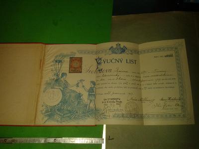 VÝUČNÍ LIST MODISTU AC MODISTEK KOLEK PRAHA 1907