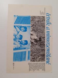 Filmová fotoska / plakátek  Cetnik Louis de Funes