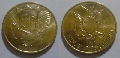 Namibie 5 dollar 1993