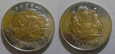 Malawi 5 kwacha 2006