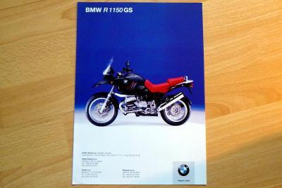 BMW R 1150R GS   -  prospekt