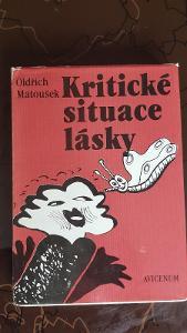 Kniha Kritické situace lásky - Oldřich Matoušek