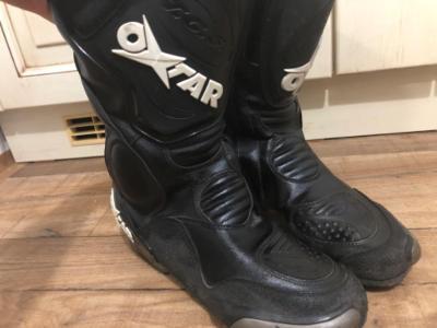 Motorkářské boty Oxtar - Velikost 44