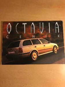 Škoda Octavia ceník 7/98