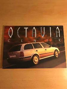 Škoda Octavia cenik 5/99