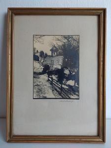 Autorská fotografie v rámečku.