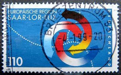 DEUTSCHLAND: MiNr.1957 Saar-Lorraine-Luxembourg 110pf, 3rd Summit 1997
