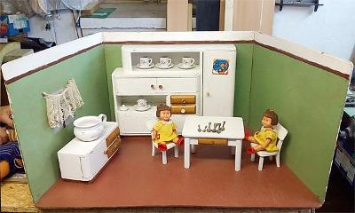 Kuchyňka pro panenky
