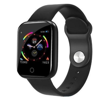 Chytré multifunkční hodinky - černé - W001* - UNISEX