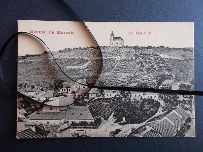 Hodonín Kyjov Bzenec Bisenz vinohrad Svatý Floriánek kostel kaple 1907