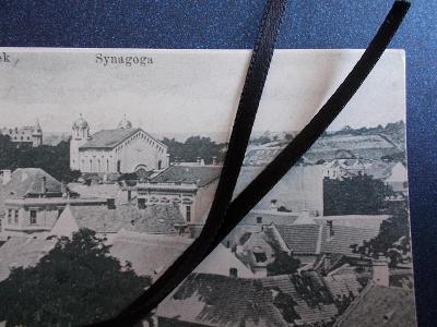 Hodonín Kyjov Bzenec Bisenz Judaika Židovská  synagoga obecní váha