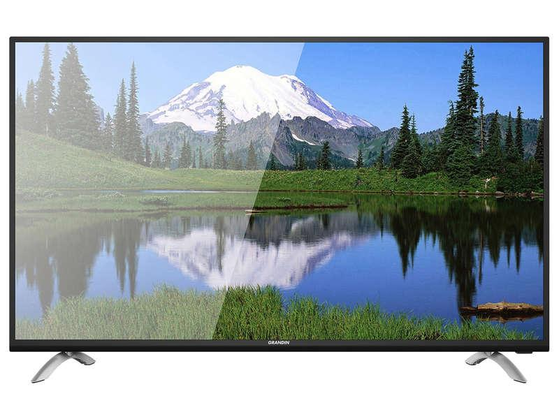 "40"" LED Televize 102 cm GRANDIN UD40CGB18 4K DVB-T2"