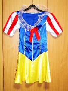 8257 SNĚHURKA - karnevalový kostým pro dospělé vel.S