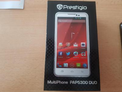 """PRESTIGIO MultiPhone PAP5300DUO s 5,3"""" displejem"""