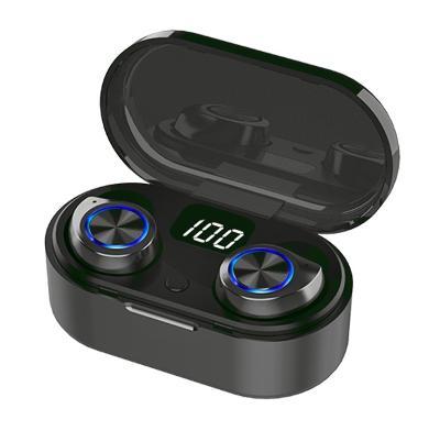 Bezdrátová sluchátka TW80 TWS Bluetooth 5.0 Black