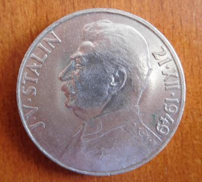 Stříbrná 100 Kč - Stalin