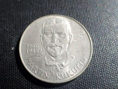 ČSSR, pamětní 100 Kčs Kukučín, 1985