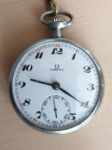 Luxusní kapesní hodinky Omega