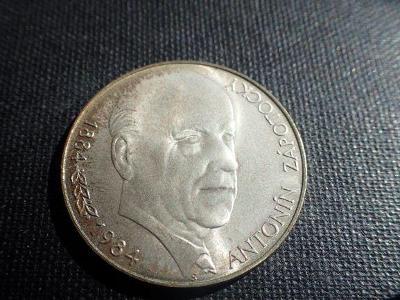ČSSR, pamětní 100 Kčs Zápotocký, 1984