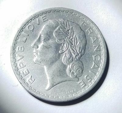 5 Franc 1945