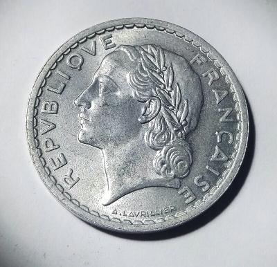 5 Franc 1947 RL
