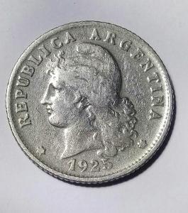 Argentína 20 Centivos 1925