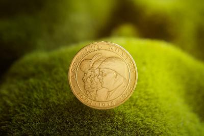Zlatá mince 20 Lei 1944, Tři králové, 6,55g