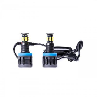 LED Markery 2 x 120W (CREE) do kroužků BMW 1 E82 (2007-2013) (D)