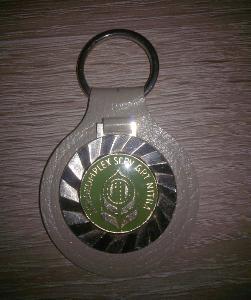 Starý přívěsek na klíče