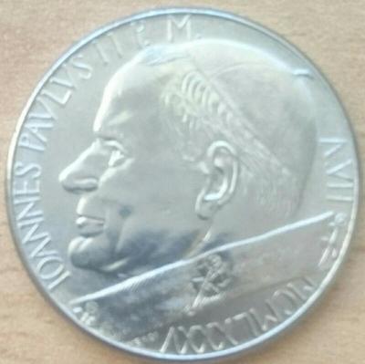 Vatikán 50 Lire 1985