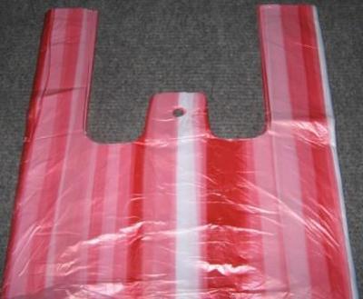 Taška 10 kg červeno-bílá balení 100 kusů