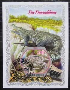 Pobřeží Slonoviny 2018 Krokodýli Mi# N/N 0562