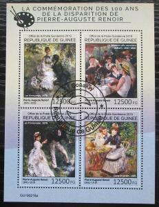 Guinea 2014 Umění, Pierre-Auguste Renoir Mi# 10742-45 Kat 20€ 1920
