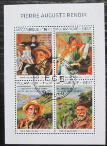 Mosambik 2018 Umění, Pierre-Auguste Renoir Mi# N/N 1920