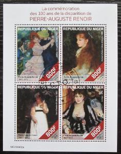 Niger 2019 Umění, Pierre-Auguste Renoir Mi# N/N 1920