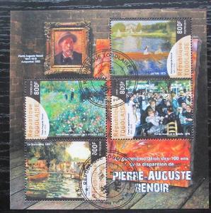 Togo 2019 Umění, Pierre-Auguste Renoir Mi# N/N 0102