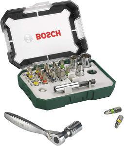 Bosch Sada bitů s ráčnou, 26dílná  (2607017322)