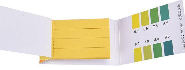 Ph test 5,5 - 9,selektivní lakmusové papírky 80ks