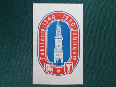Pohlednice - Pardubice 1340 - 1940 - Jubileum