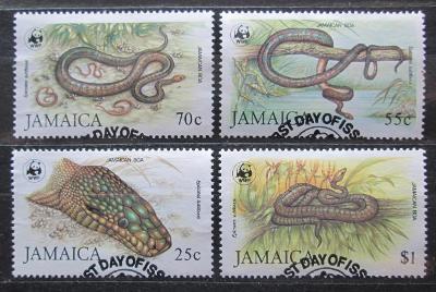 Jamajka 1984 Hadi, WWF 019 Mi# 591-94 Kat 70€ 1924