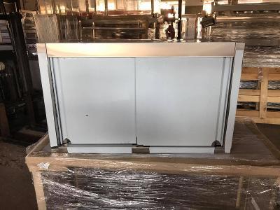 Nerezová nástěnná skříňka 80x40x60