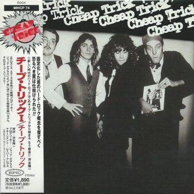 CD Cheap Trick - Cheap Trick  (1977)  Japan paper sleeve